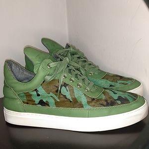 Nubuck Army Fatigue sneakers